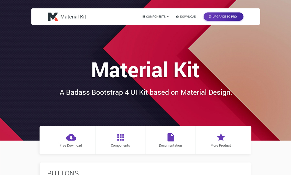 bootstrap ui kit psd