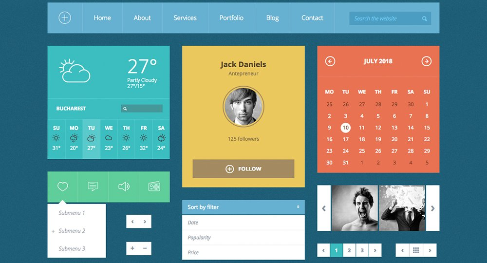 20-best-free-bootstrap-4-ui-html-kits