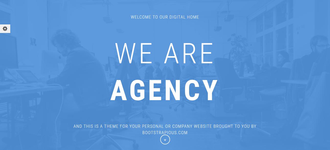 Agency Portfolio Theme