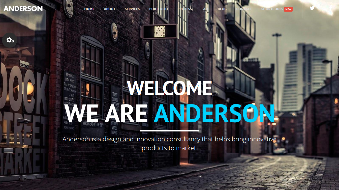 Anderson - Onepage Multipurpose Template