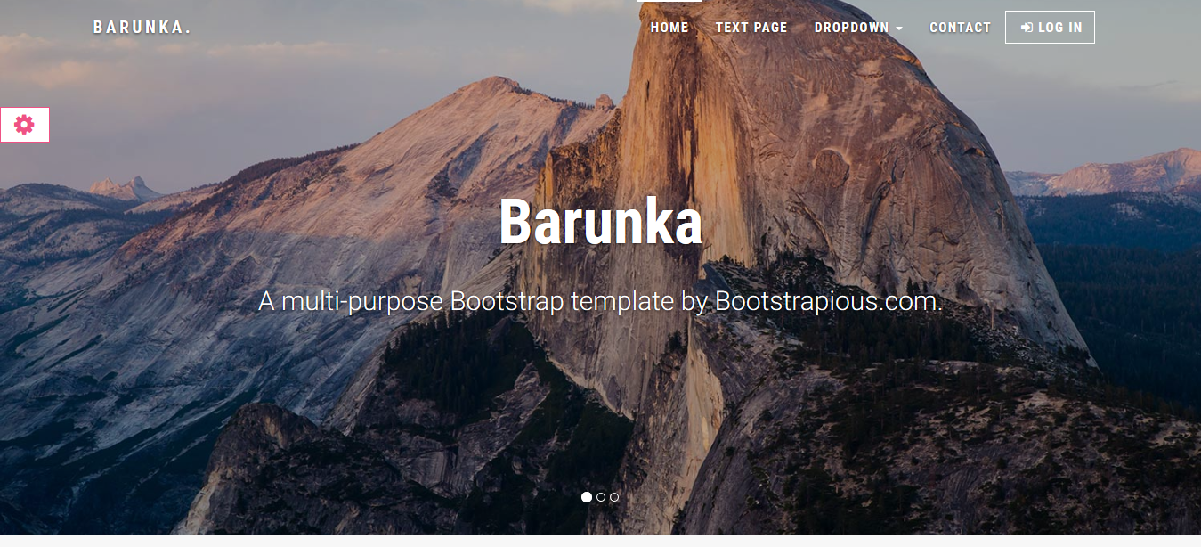 Barunka – Multi-purpose Bootstrap Template