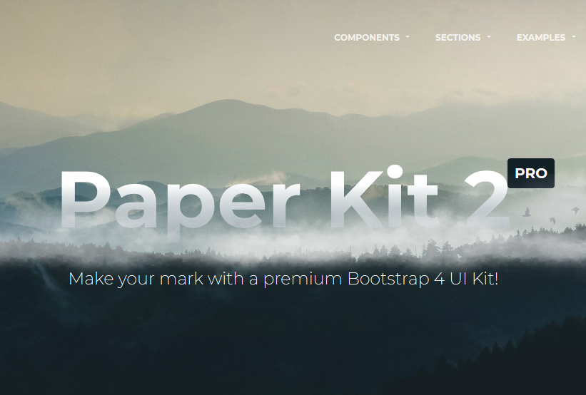 20 Best Free Bootstrap 4 UI HTML Kits for Modern Web Apps