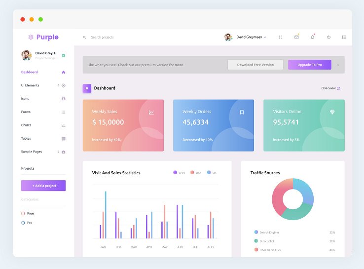 20+ Bootstrap Simple Admin Panel Template Free 2018 - ThemeSelection