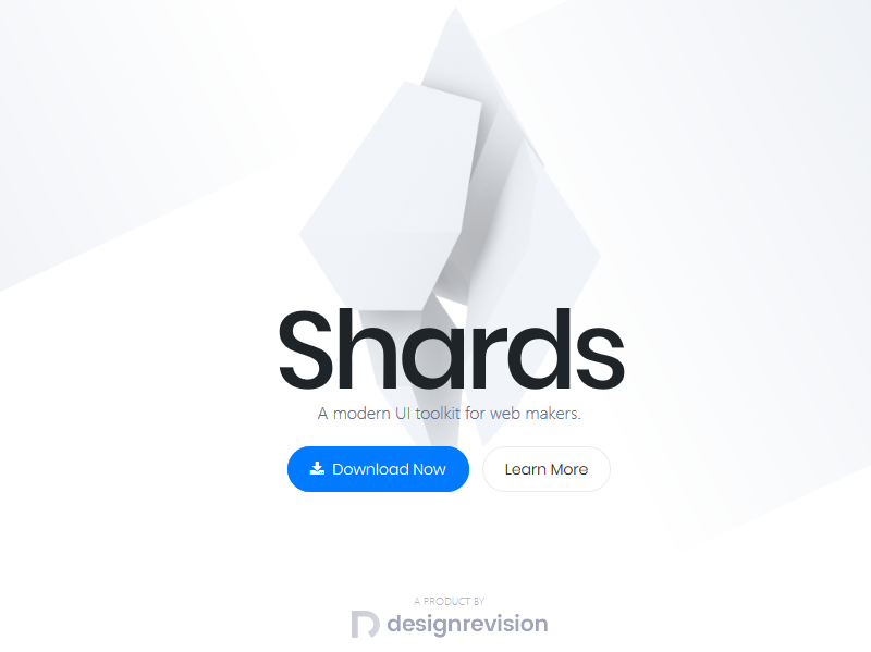 Shards – Bootstrap 4 Web UI Kit