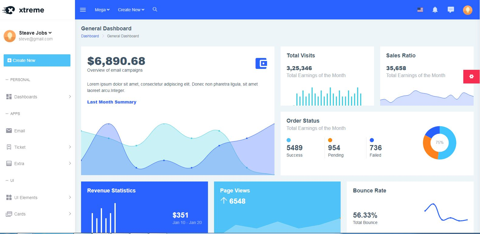 40+ Best Free & Premium Angular admin template 2018 - ThemeSelection