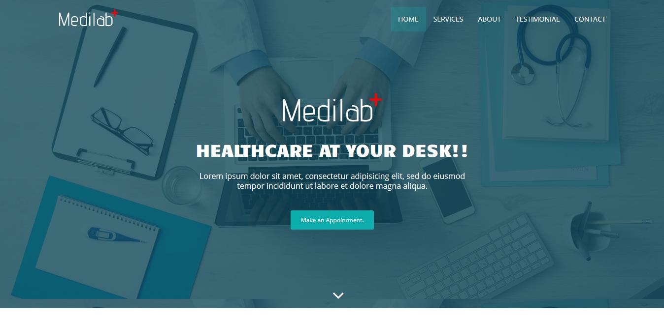Medilab Free Medical Bootstrap Theme