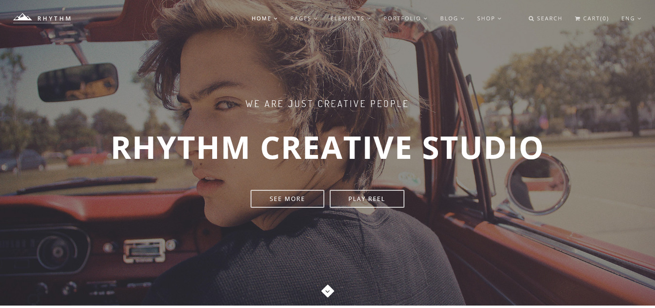 Rhythm - Multipurpose One/Multi Page Template