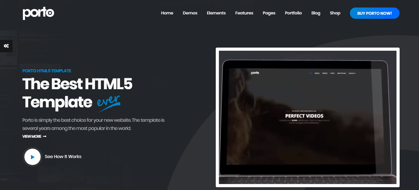 Black – Free HTML5 Multi-Purpose Website Template
