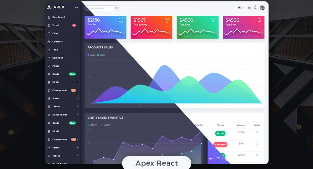 simple-bootstrap-admin-template-for-free-2019
