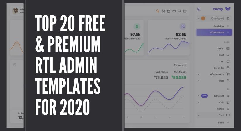 free-premium-rtl-admin-templates
