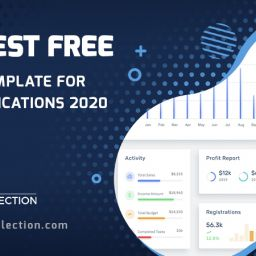 free admin template for web applications