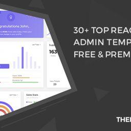 react redux admin template free
