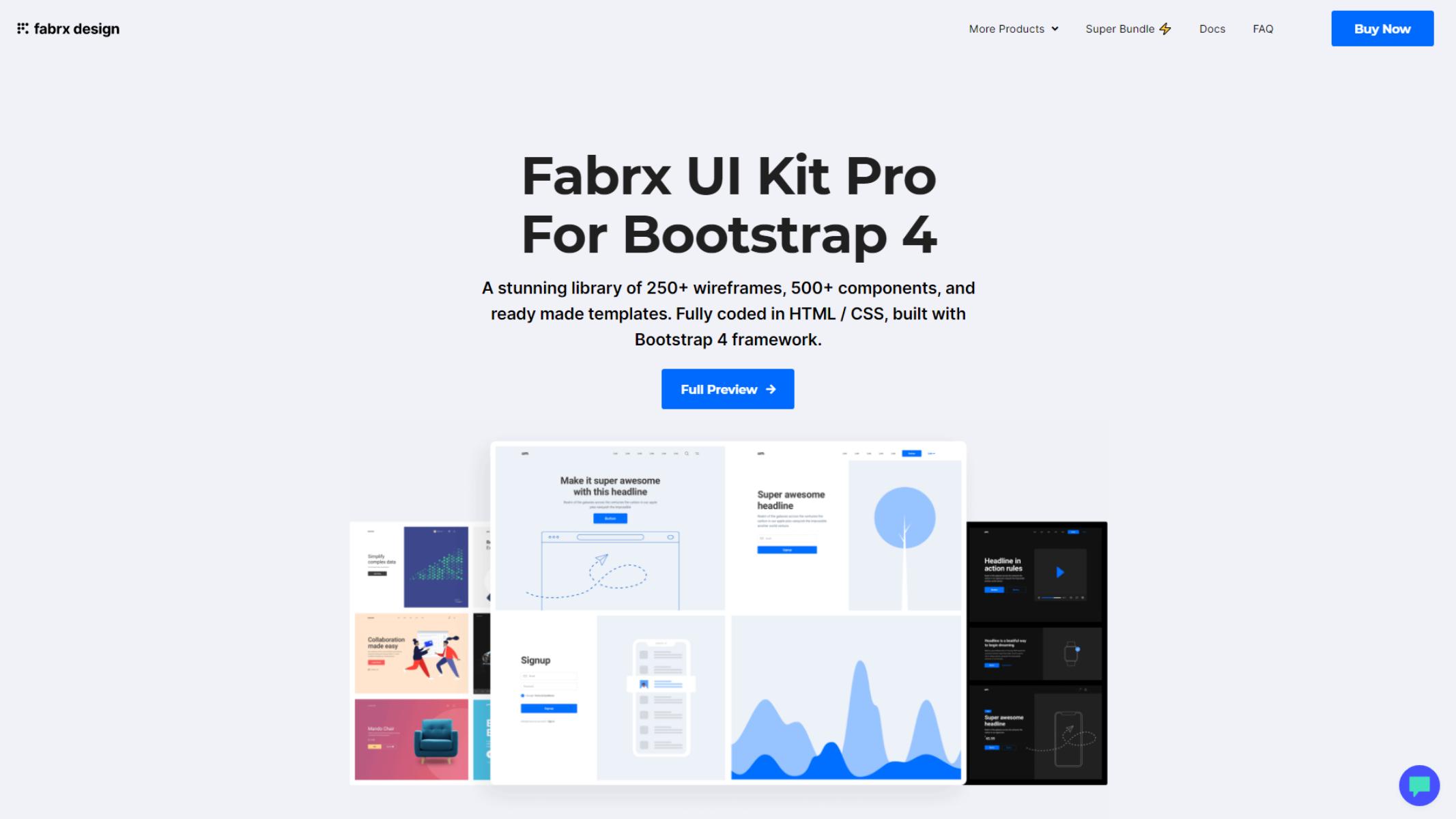 Fabrx UI kit