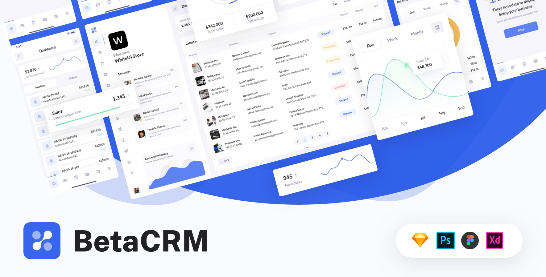 Beta crm ui kit