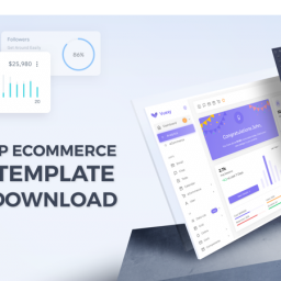 bootstrap e-commerce admin template