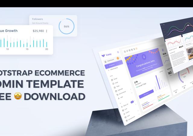 bootstrap e-commerce admin template