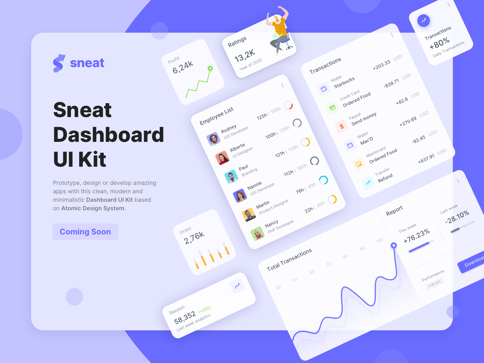 Sneat UI Kit