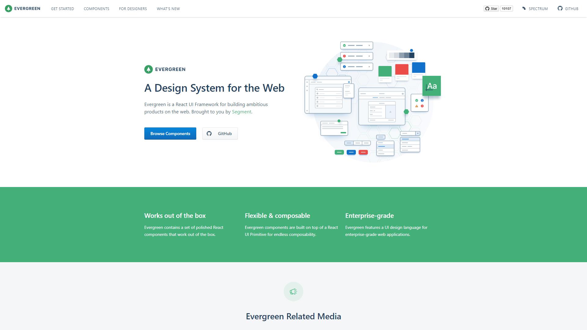 Evergreen ReactJS UI Frameworks
