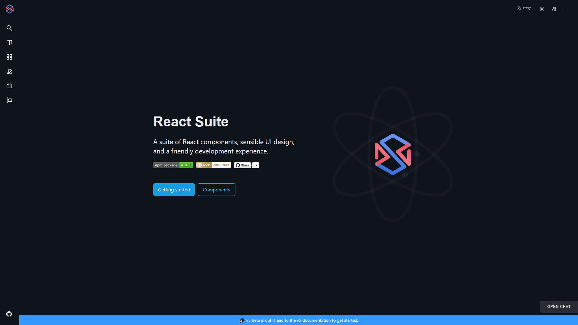 React suite ReactJS UI Frameworks