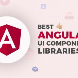 angular ui component libraries