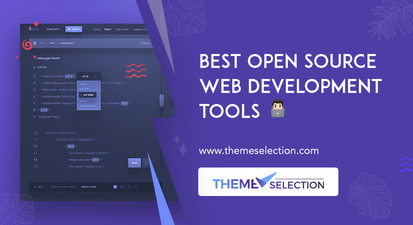 open source web development tools