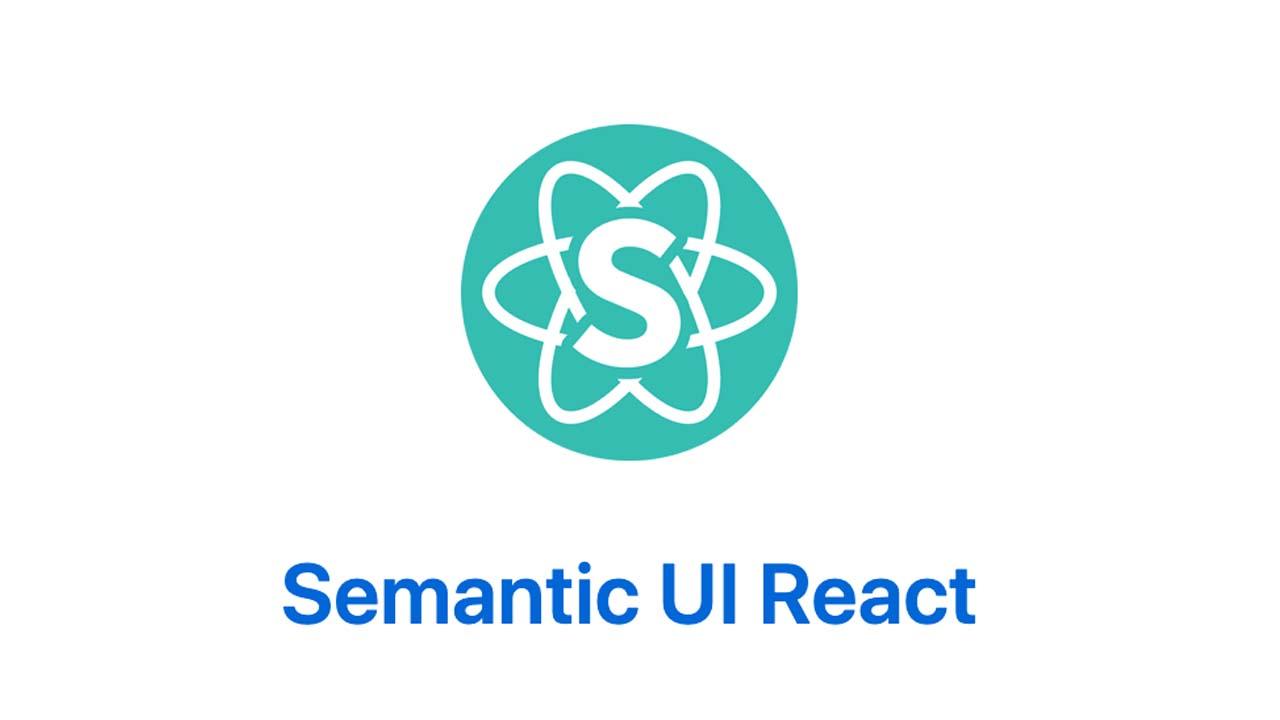 React Semantic ReactUI component library