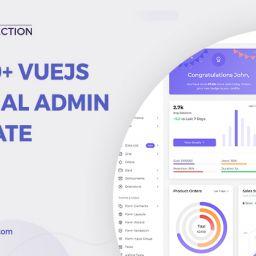 VueJS Material Admin Template