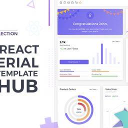 react material admin template github