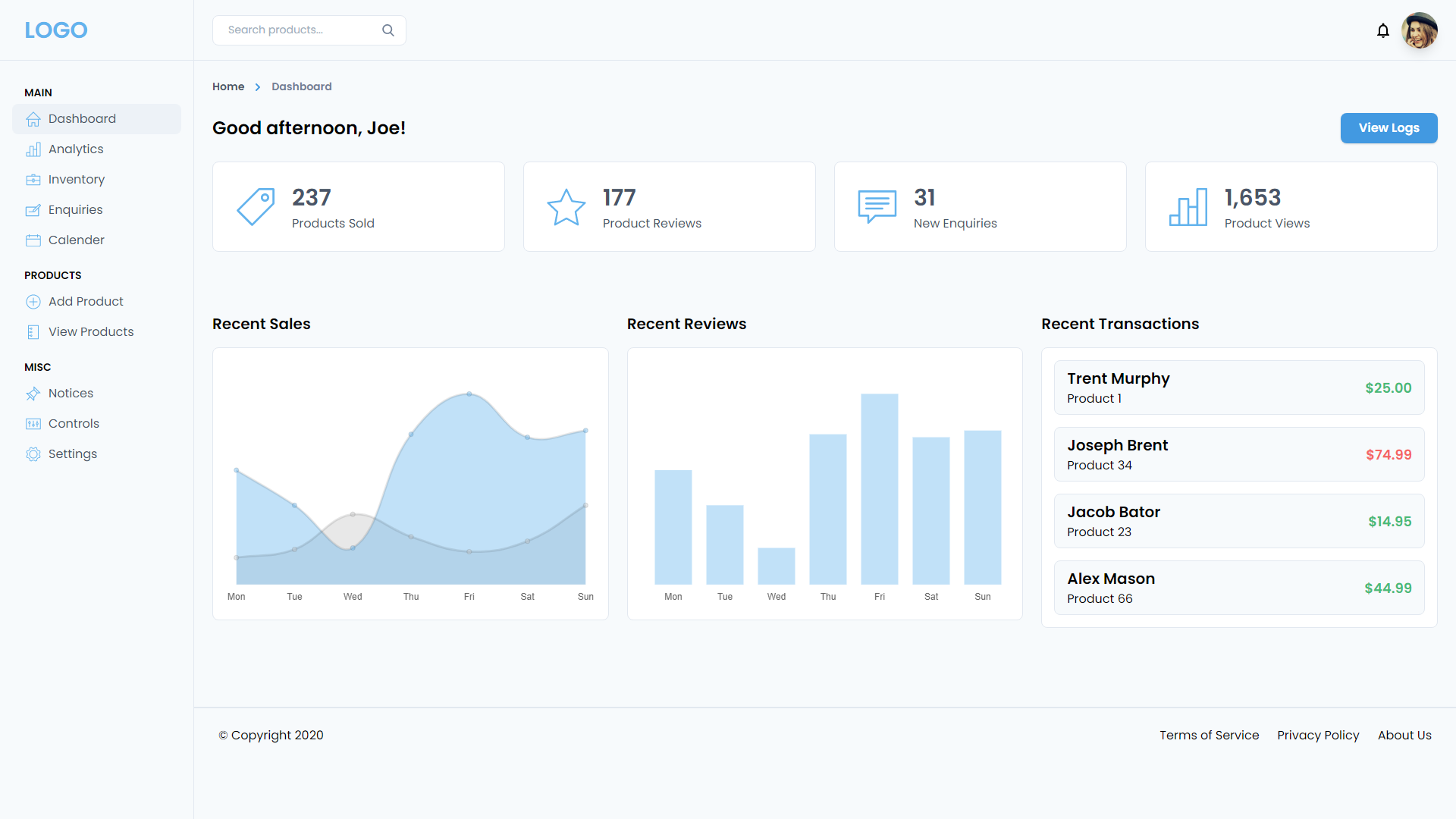 Vue tailwind admin Tailwind CSS template free