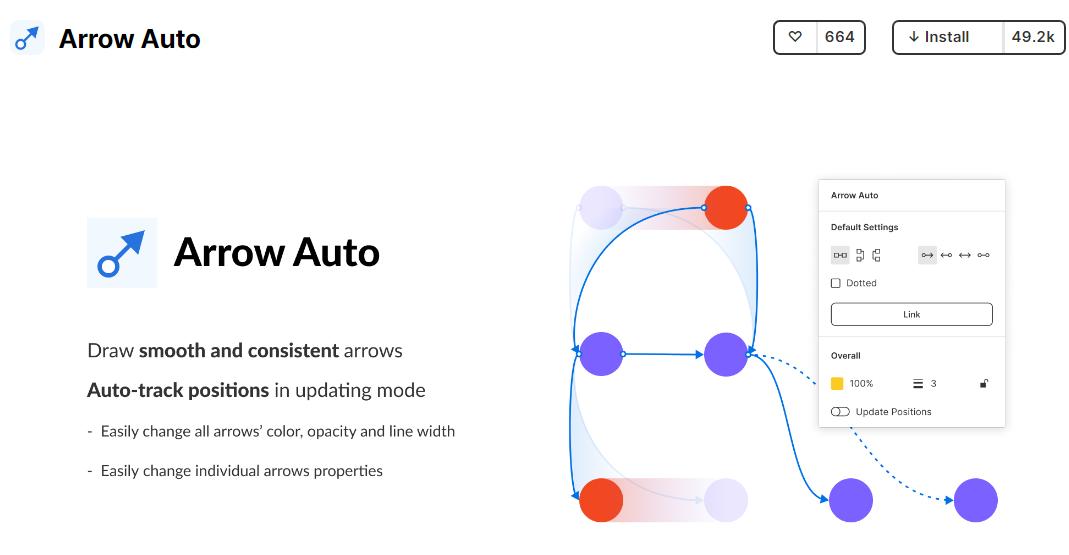 Arrow auto best plugins for Figma