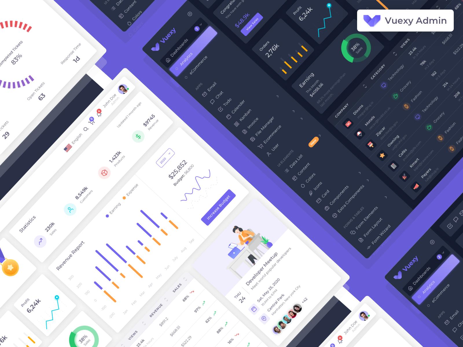 Vuexy free tools for web designers