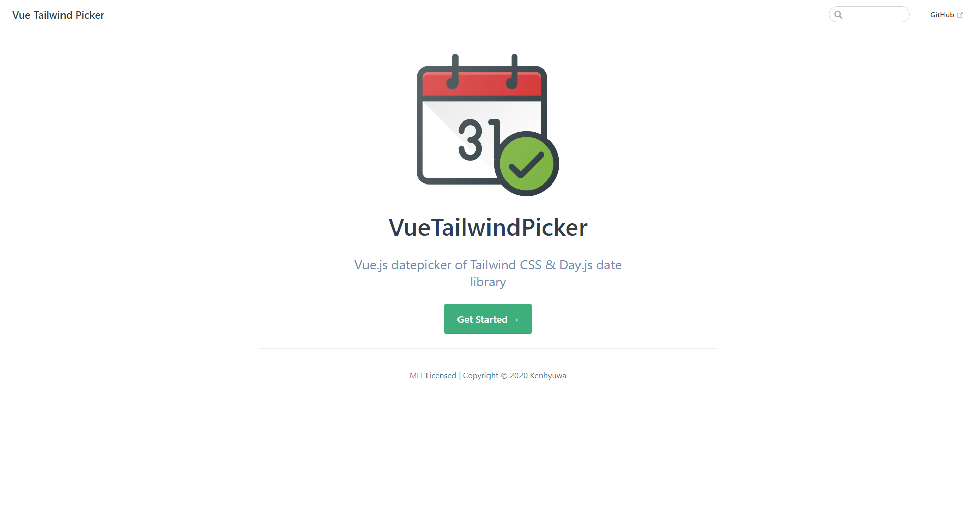 Vue tailwind picker