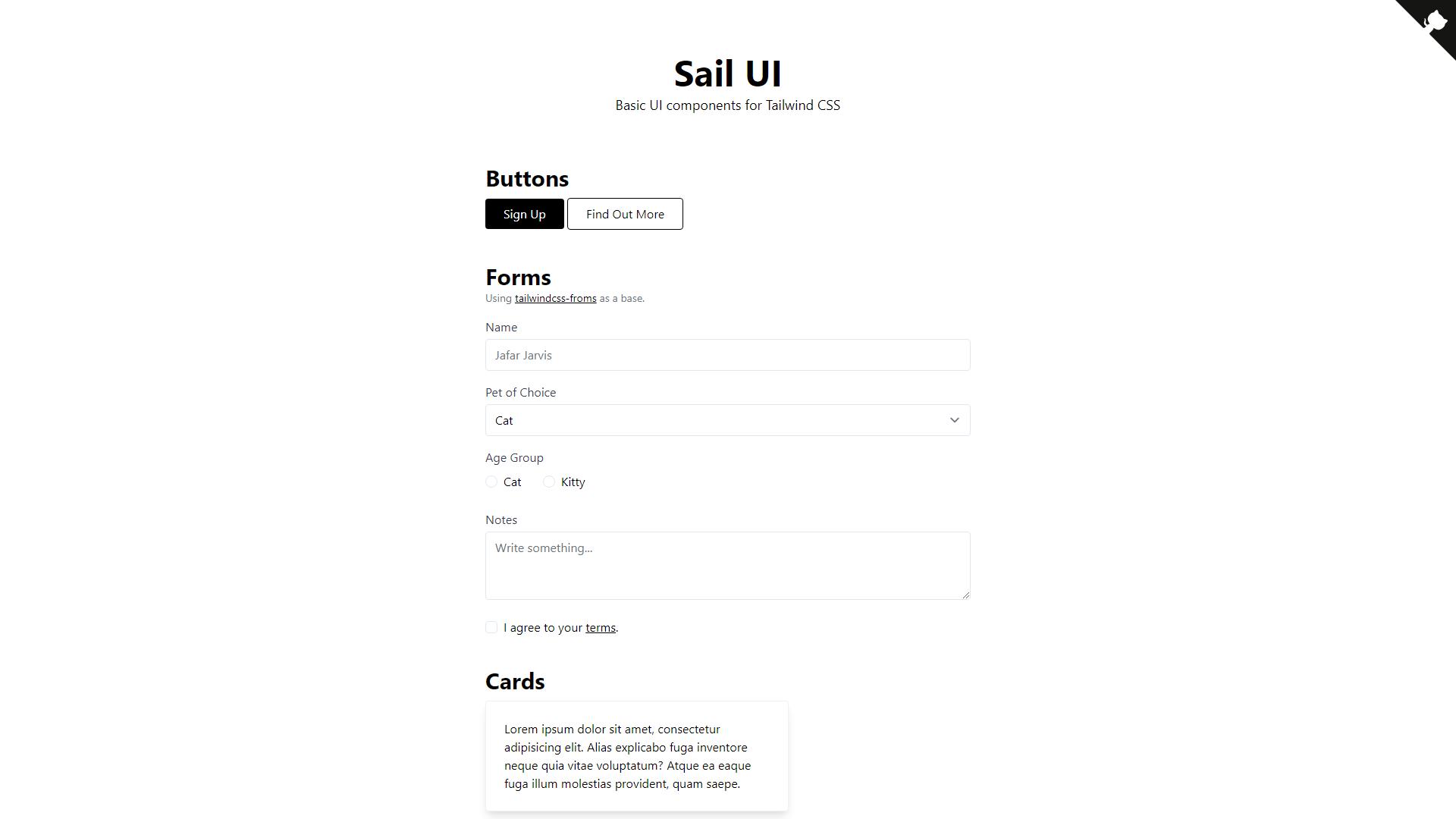 Sail UI