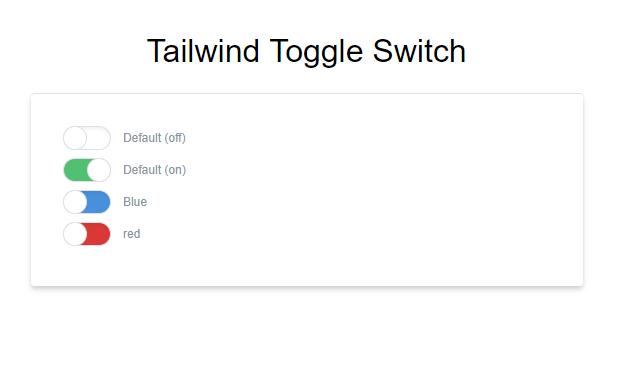 tailwind CSS tutorial