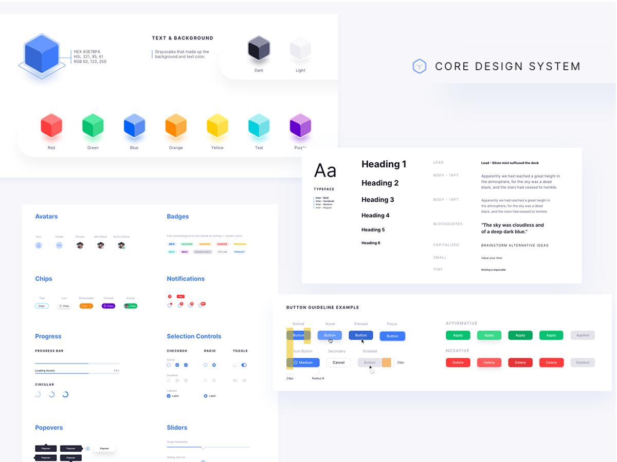 Free Core design system
