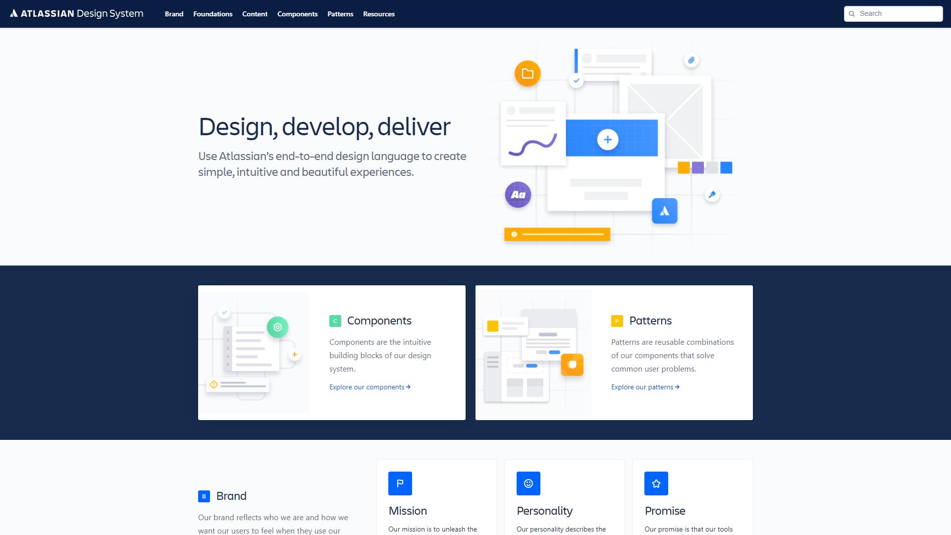 Atlassian Design System Figma