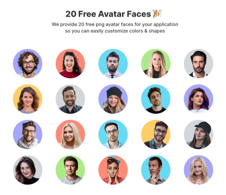 free Avatar library