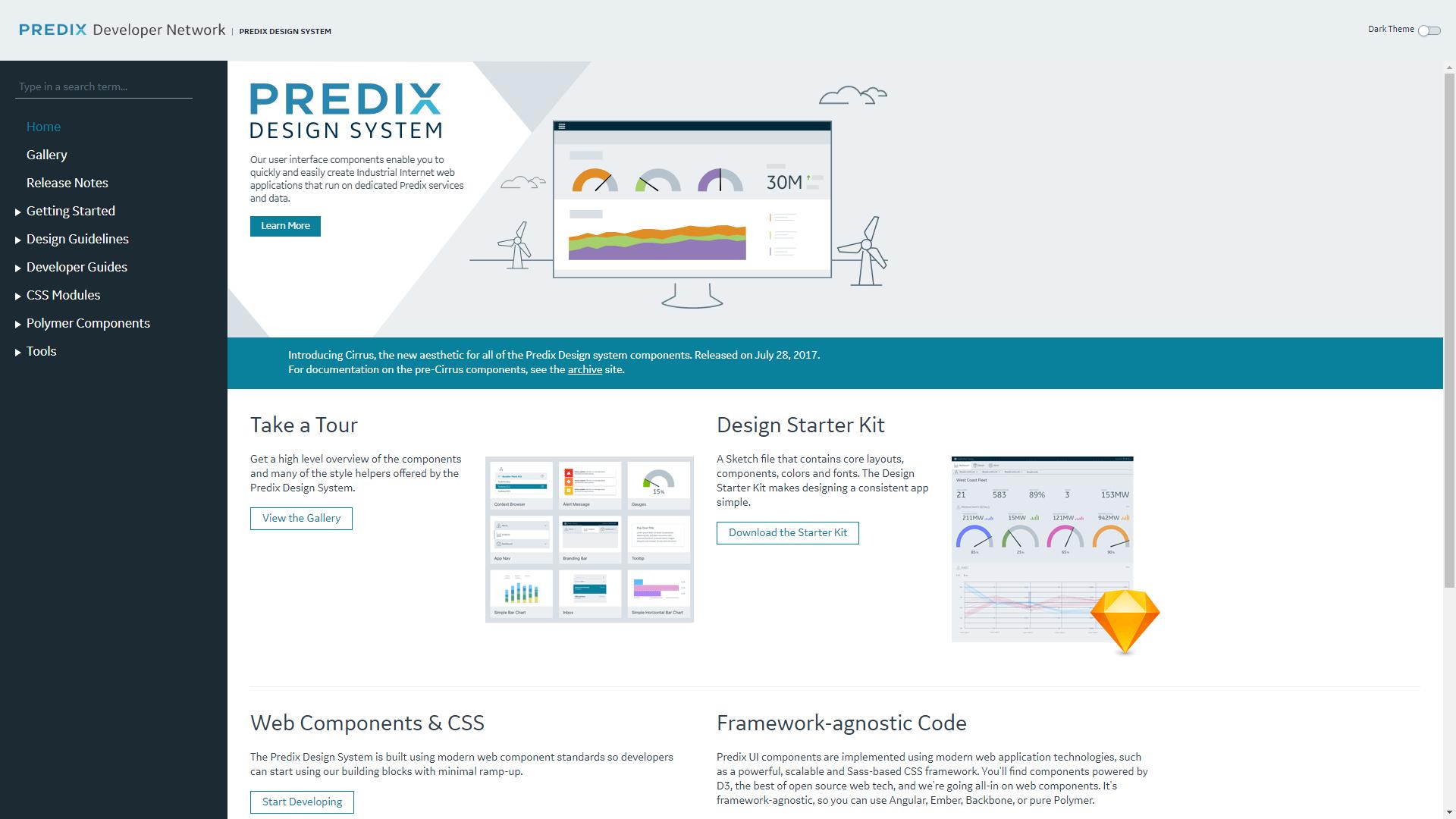 Predix free sketch design system