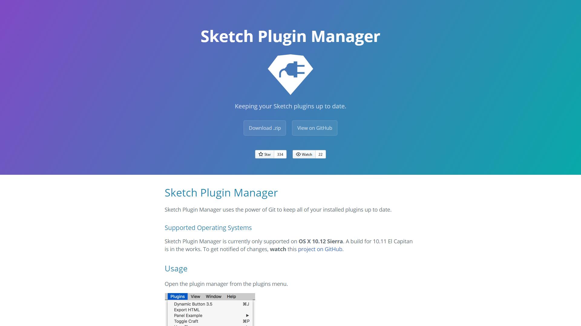 Sketch Plugin Manager