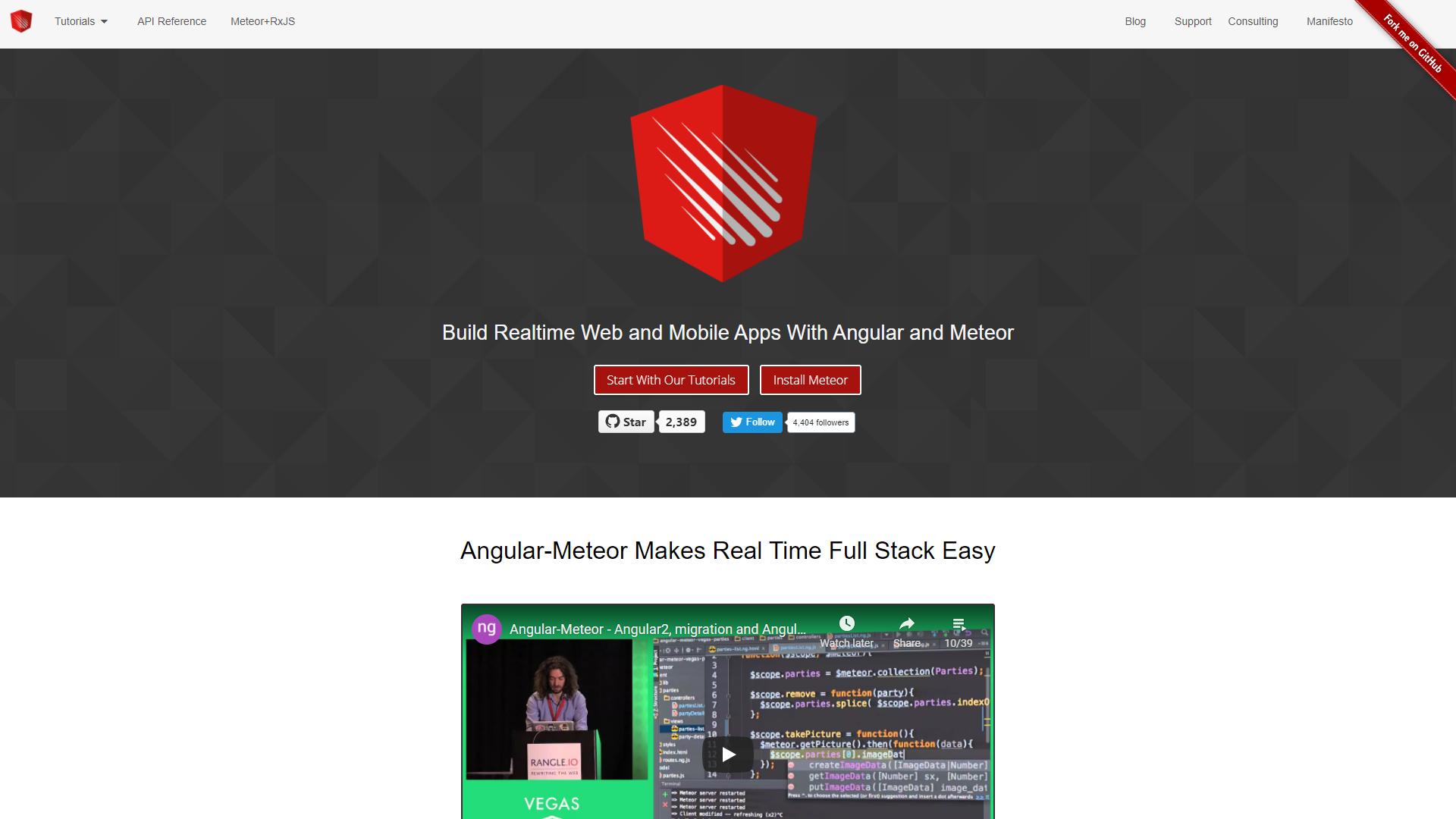 angular meteor