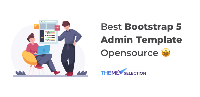 bootstrap 5 adin template opensource