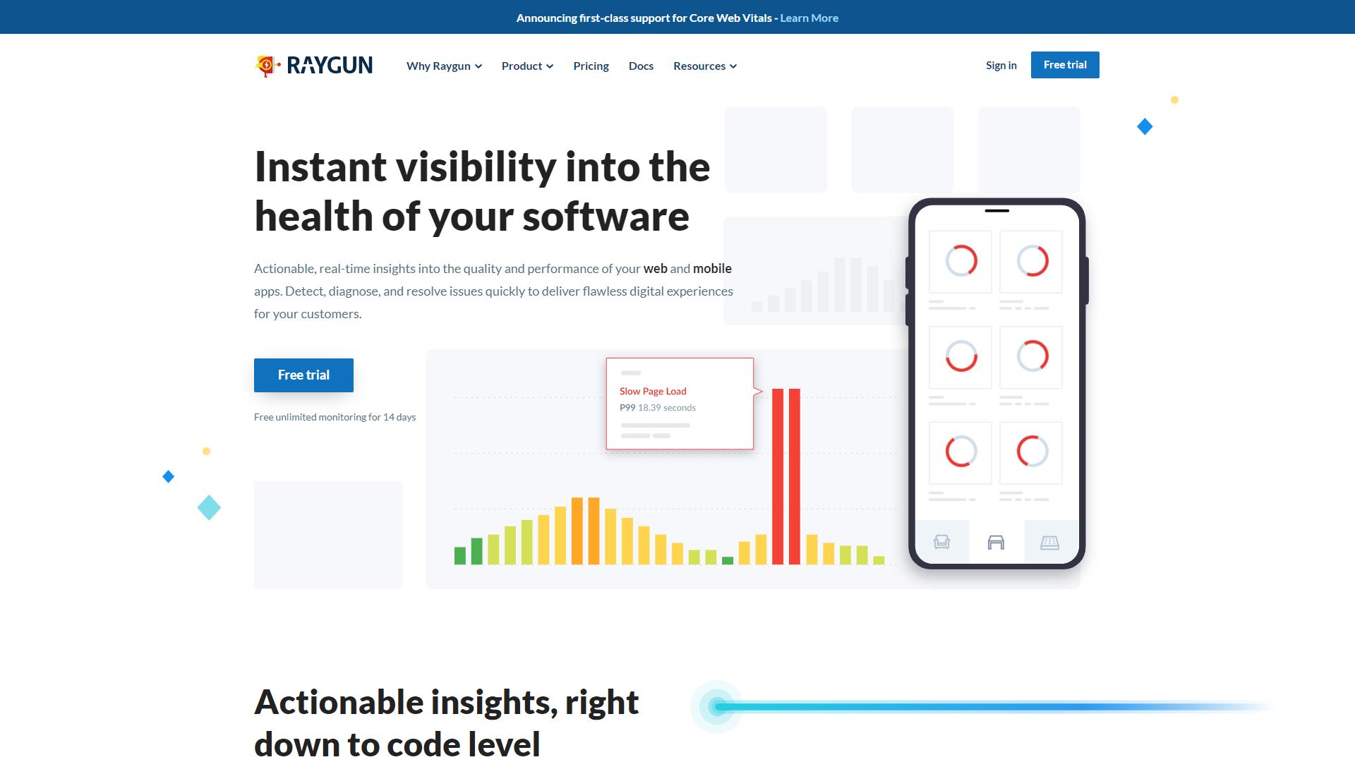 PingdomFrontend Monitoring Tools