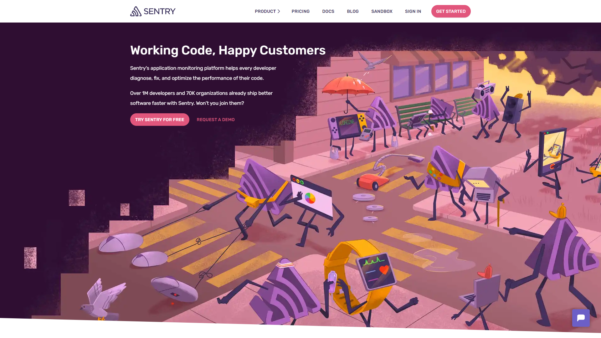 Sentry Frontend Monitoring Tools