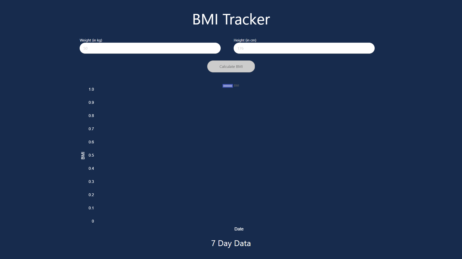 BMI calculator opensource react projects