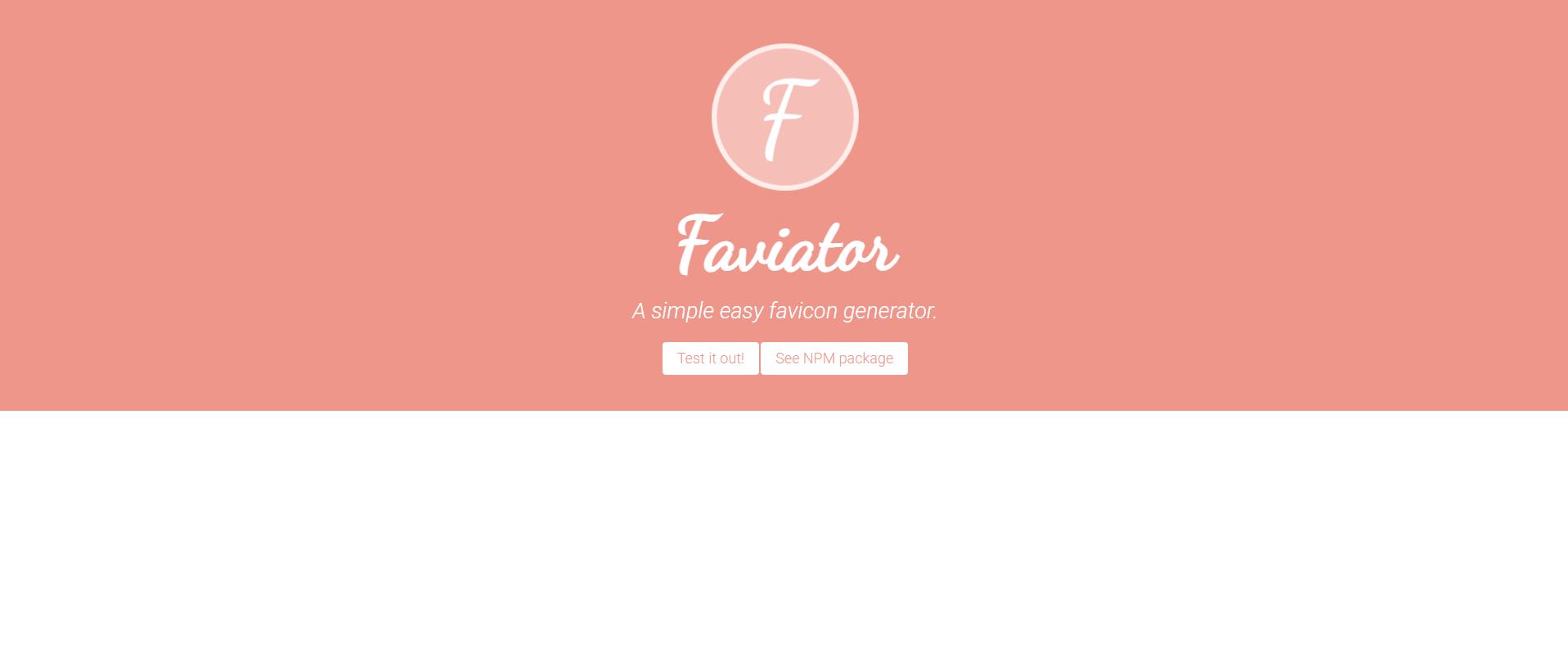 Faviator vuejs project