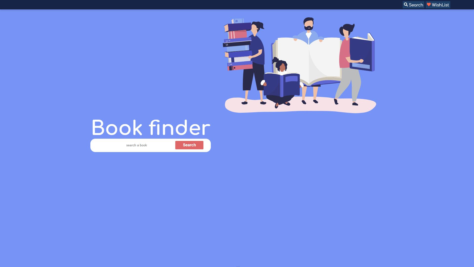 book finder app