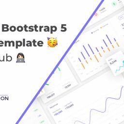 bootstrap 5 admin template GitHub