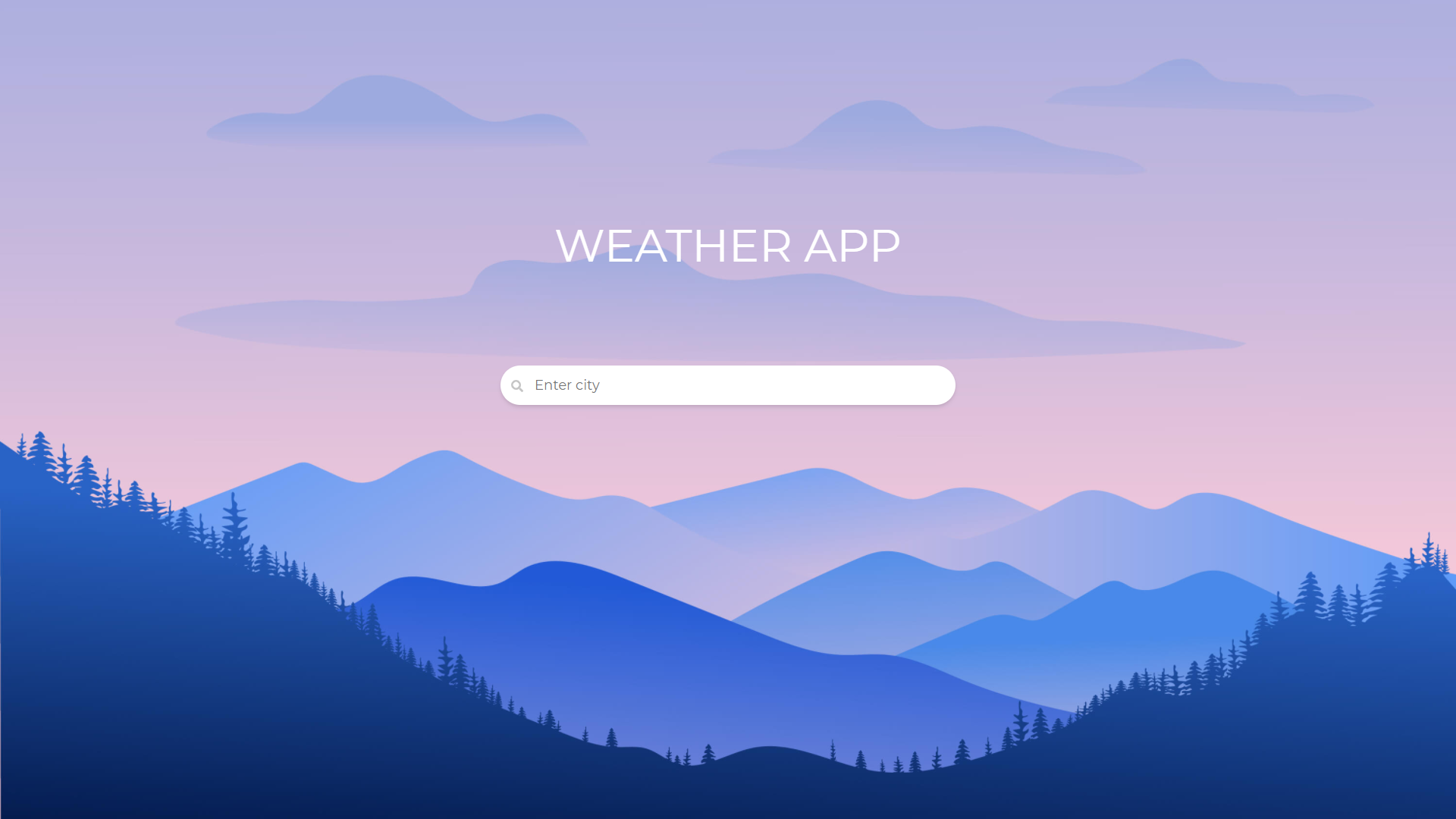 weather app React Project Ideas For Beginners