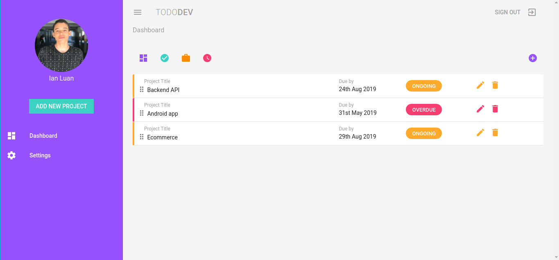ToDo Dev Vuetify examples