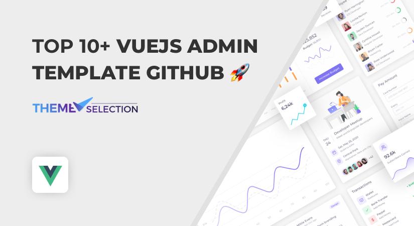 VueJS Admin Template GitHub
